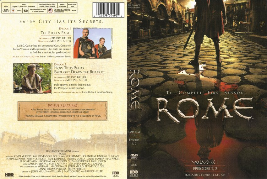 games of rome dvd season - photo#17