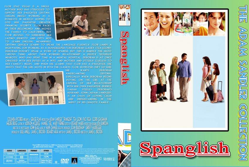 Spanglish - The Adam Sandler Collection - Movie DVD Custom Covers - 06 ...