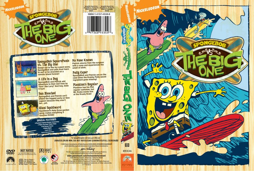 Spongebob Squarepants - Spongebob vs The Big One