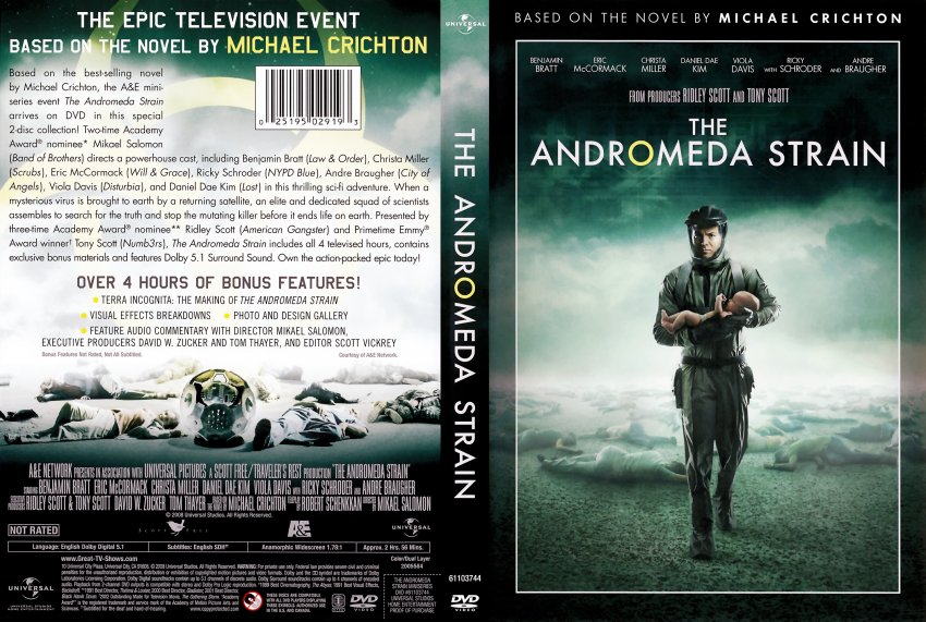 the andromeda strain - essay questions