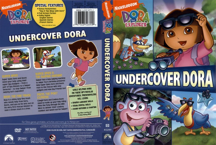 The gallery for --> Dora The Explorer Undercover Dora Dora The Explorer Undercover Dora