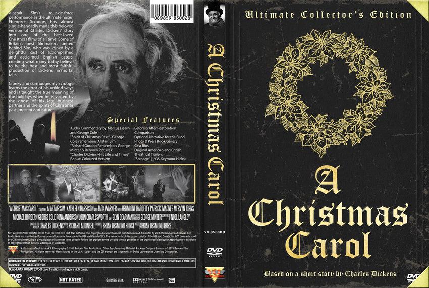 the cast of a christmas carol 1951