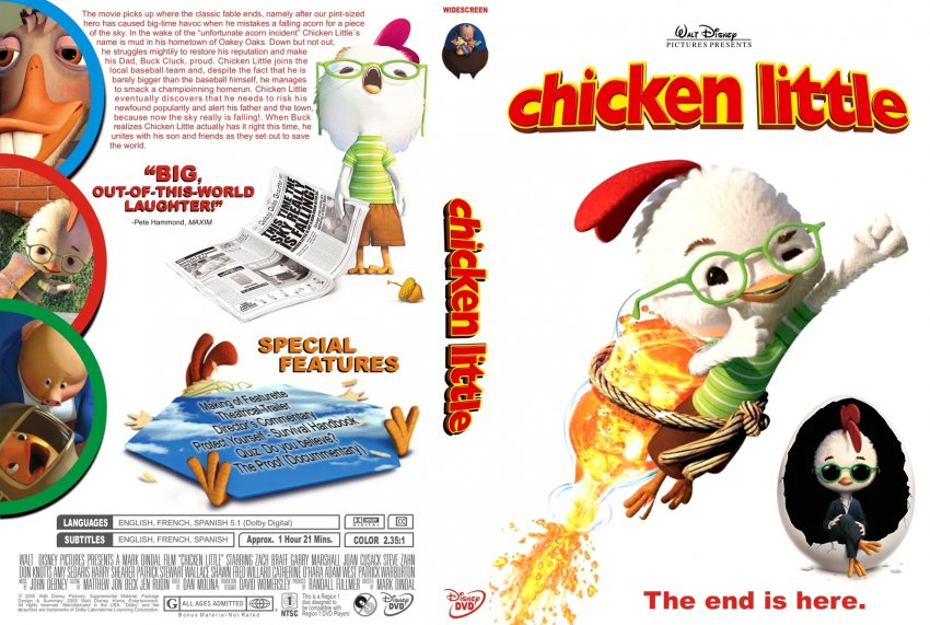 The gallery for --> Chicken Little Dvd Ebay