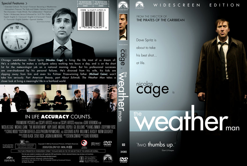 movie weather man The weather man (2005) - torrents a chicago weather man, separated from his wife and children, debates whether professional and personal success are mutually exclusive.