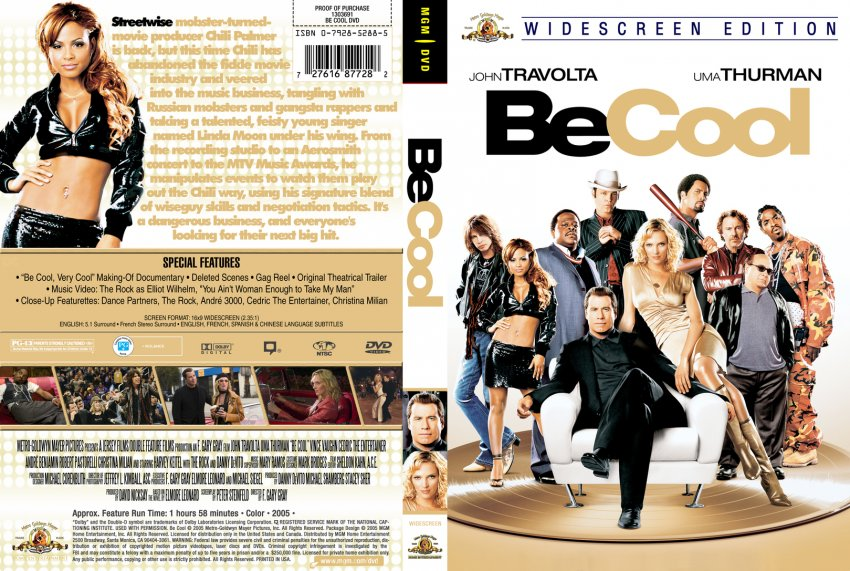 Be Cool cstm - Movie DVD Custom Covers - 10Be Cool cstm ...