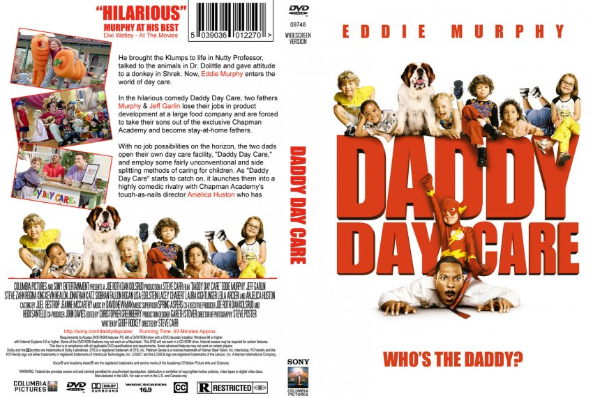daddy daycare movie Official theatrical movie poster (#1 of 4) for daddy day care (2003) directed by  steve carr starring eddie murphy, jeff garlin, steve zahn, regina king.