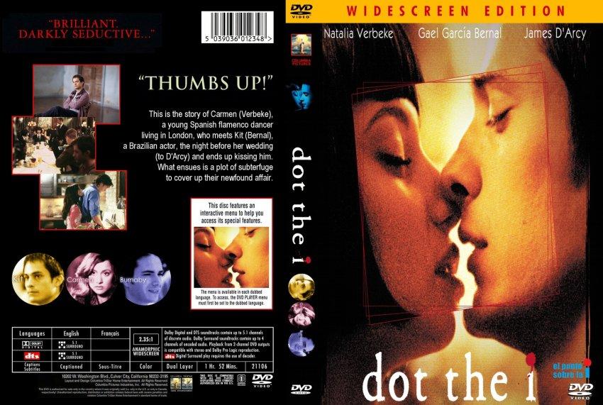 Dot The I - Movie DVD Custom Covers - 10Dot the I :: DVD Covers