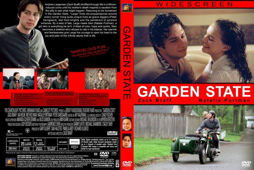 Garden State Cstm Movie Dvd Custom Covers 10garden