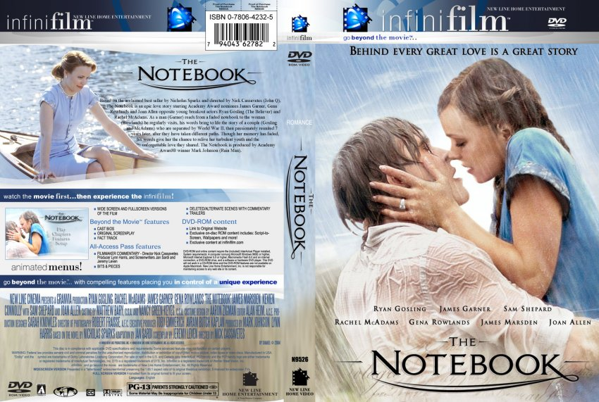 compare the notebook movie to book We do a lot of reading in our house i love to read and have been lucky enough to have children who share that love of reading one of the things we have done throughout the years is read a book, watch the movie, and then compare and contract book vs movie.