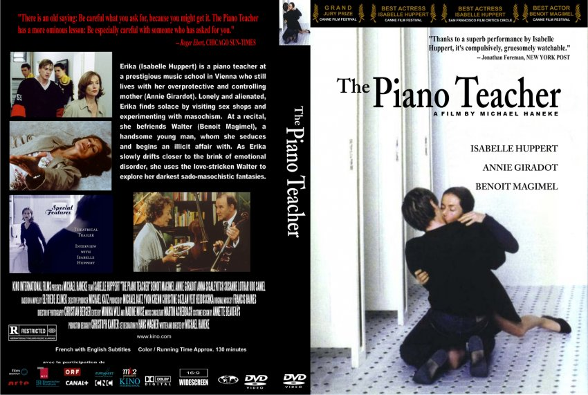 the piano teacher Watching ''the piano teacher,'' adapted from elfriede jelinek's 1983 novel, you can sense the relish with which he punishes the.