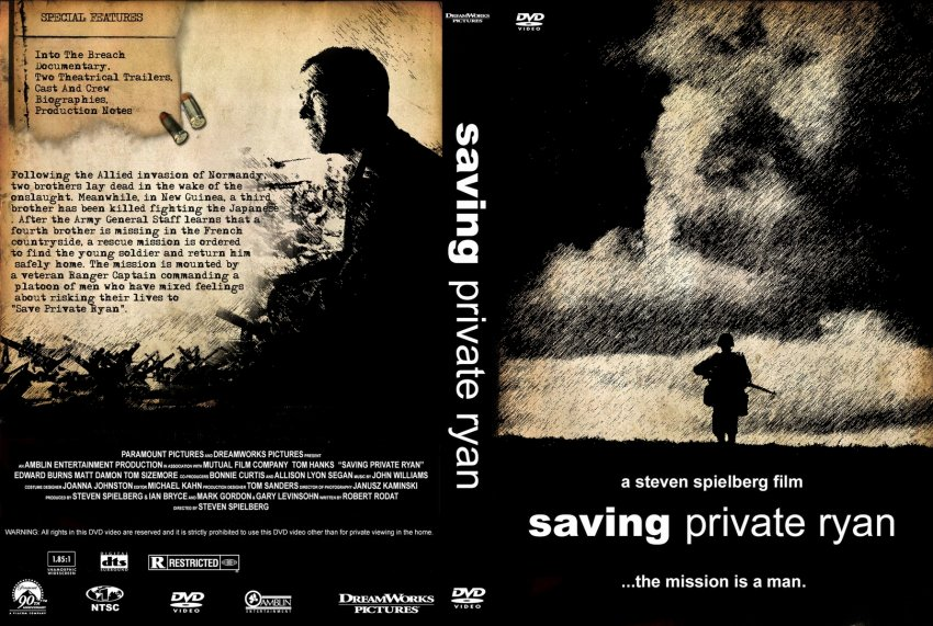 the value of life saving private ryan Saving private ryan a real-life drama by ron churchill, university of buffalo reporter saving private ryan: pictures behind the scenes at paratrooper research team.
