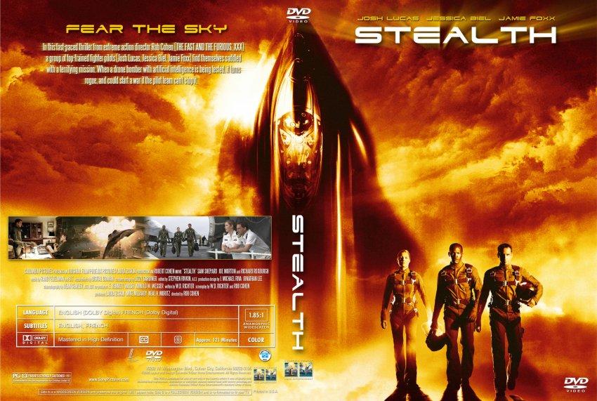 Stealth - Movie DVD Custom Covers - 10Stealth cstm gizmo ...