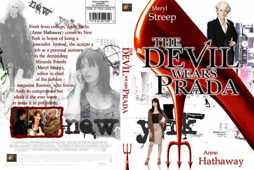The Devil Wears Prada - Movie DVD Custom Covers - 10The Devil Wears Prada cstm EvilMonkey dsk3 ...