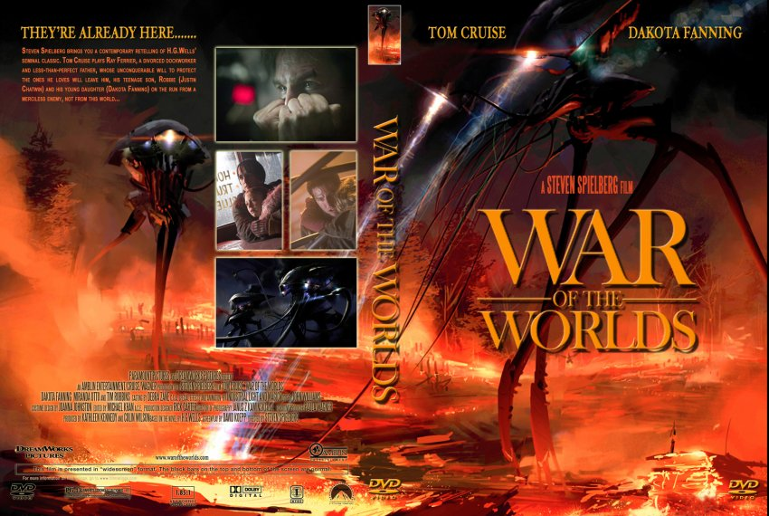 Dvd World War z War of The Worlds