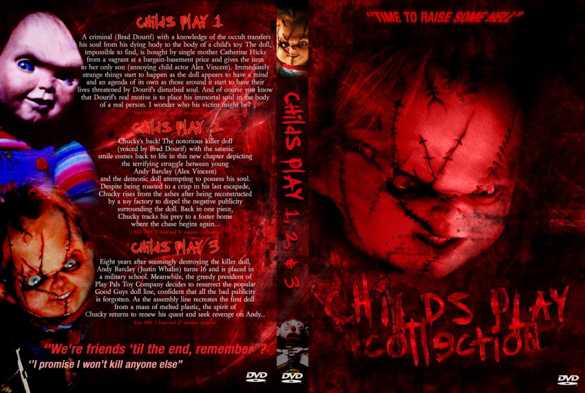 Childs play collection movie dvd custom covers 1127childs play