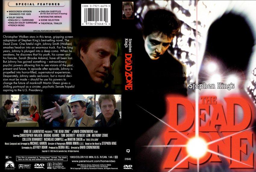 The Dead Zone - 1983 - Stephen King's - Movie DVD Custom Covers ...