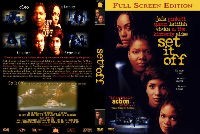 the movie set it off Find album reviews, stream songs, credits and award information for set it off [original soundtrack] - original soundtrack on allmusic - 1996 - the soundtrack to the black female gangsta movie.