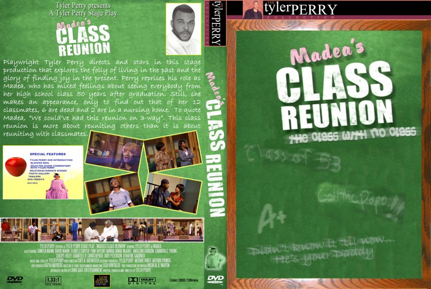 Tyler perry madea s class reunion stage play movie dvd custom
