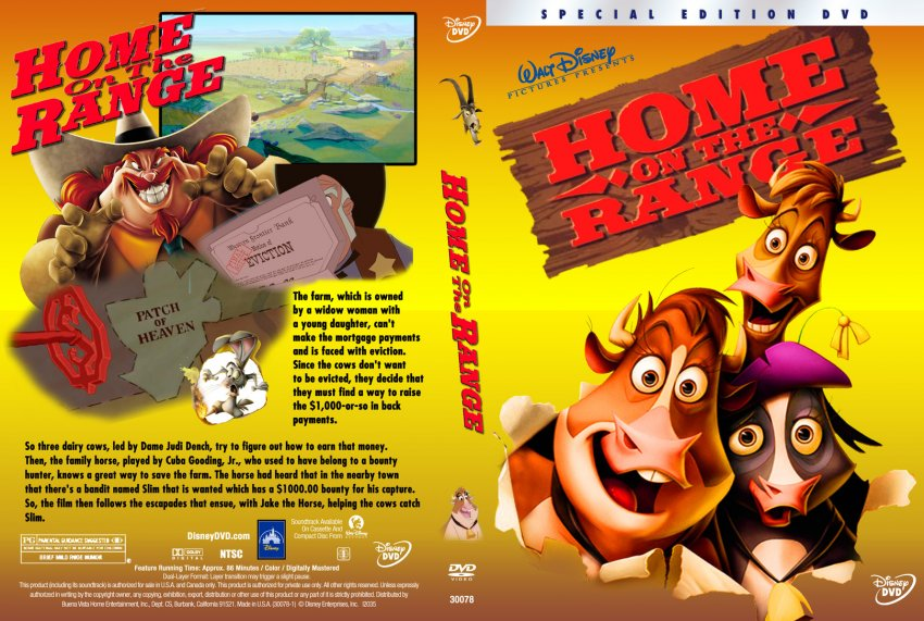 home on the range dvd cover wwwimgkidcom the image