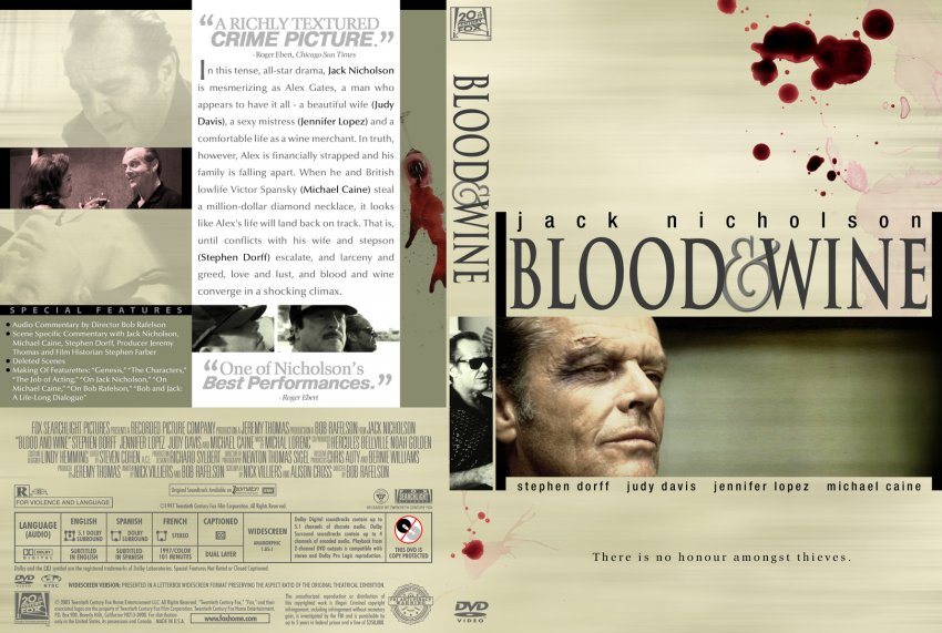 Blood And Wine - Movie...