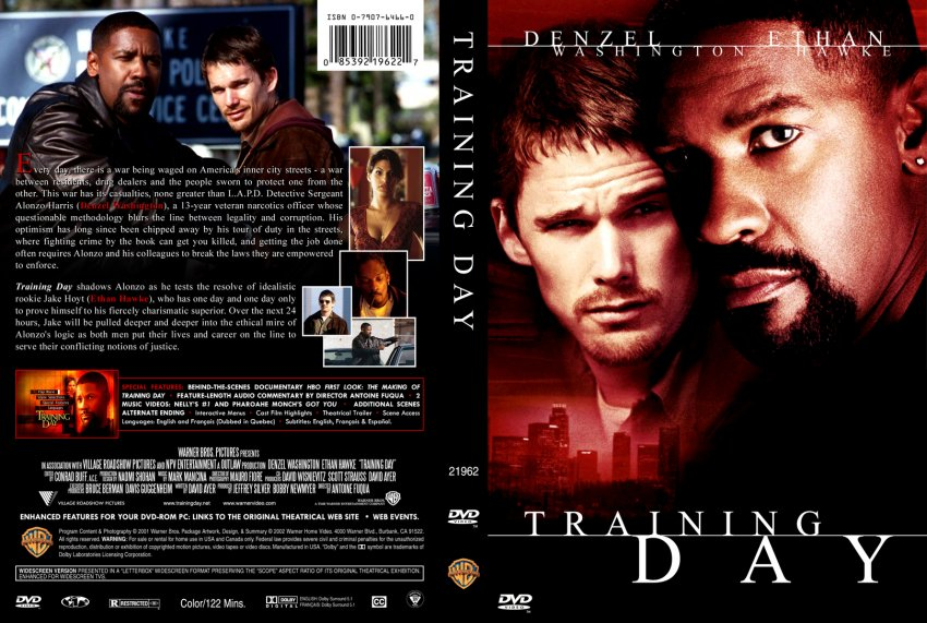 Training Day - Movie DVD Custom Covers - 1241TrainingDay ...