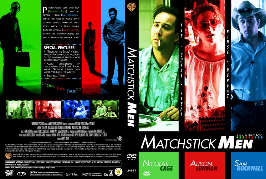 Matchstick Men 2003  Rotten Tomatoes  Movie Trailers