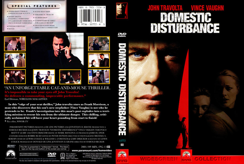 domestic disturbance movie dvd custom covers