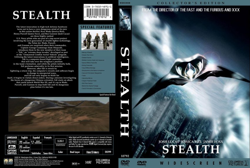 Stealth - Movie DVD Custom Covers - 1277stealth :: DVD Covers