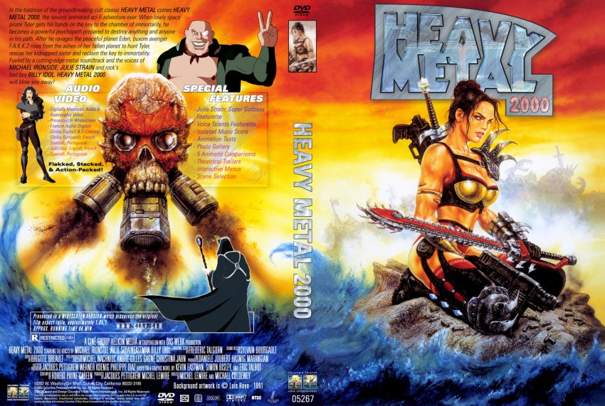 The cover for heavy metal 2000 : mendrawingwomen