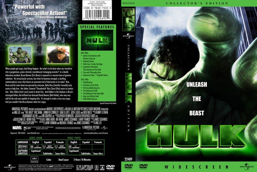 Game The Hulk 2003