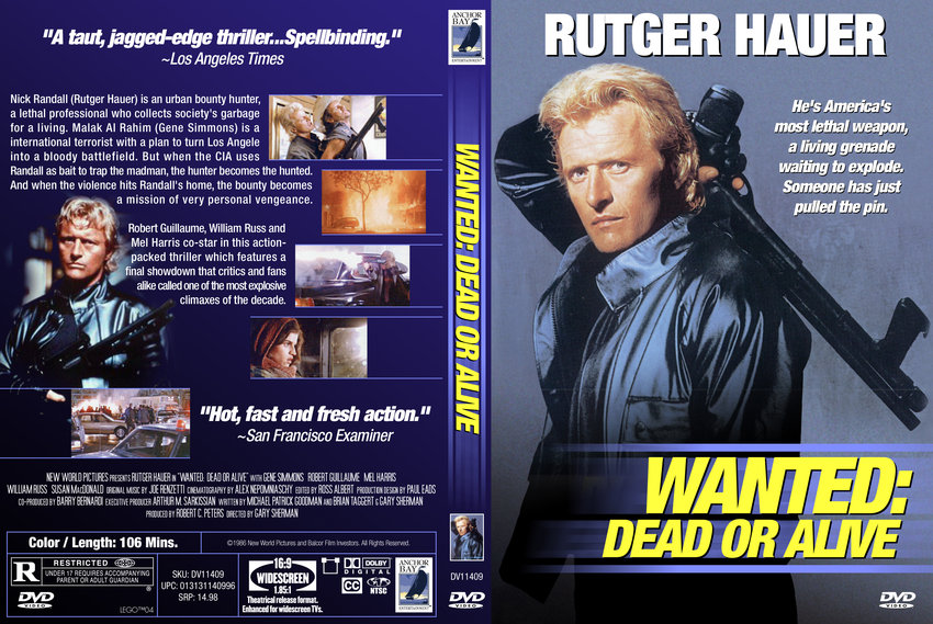 Wanted Dead Or Alive Movie Dvd Custom Covers 1332wanted Doa