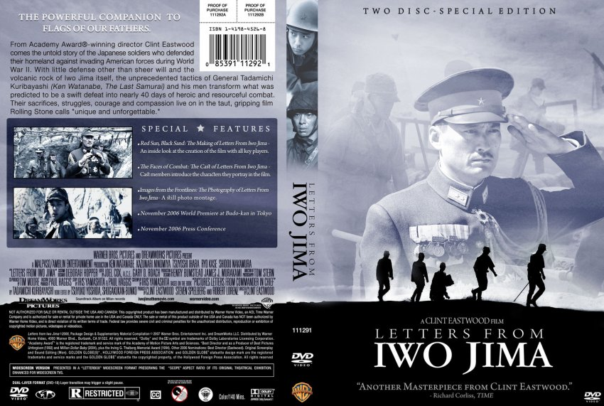 Letters from Iwo Jima - Movie DVD Custom Covers - 13389Custom-letters ...