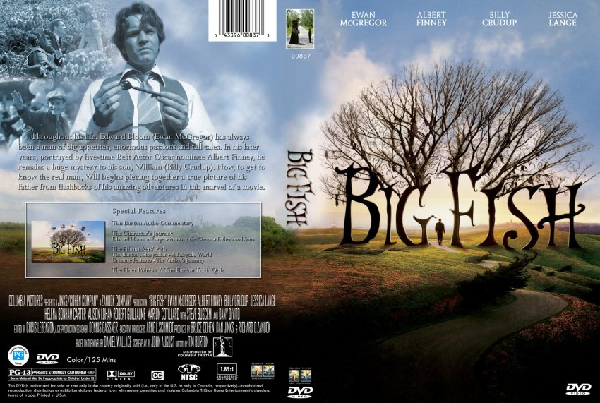 Big fish movie dvd custom covers 133bigfish hires for Big fish movie online