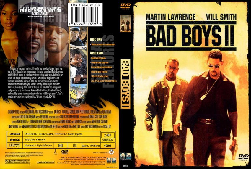 Bad boys 2 movie poster
