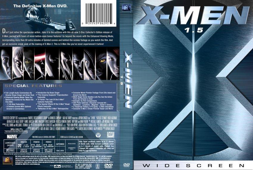 X Men Dvd Cover: 1502X-MEN1 :: DVD Covers