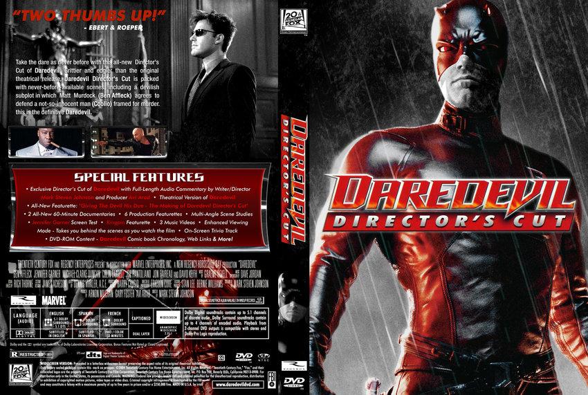 Daredevil movie script