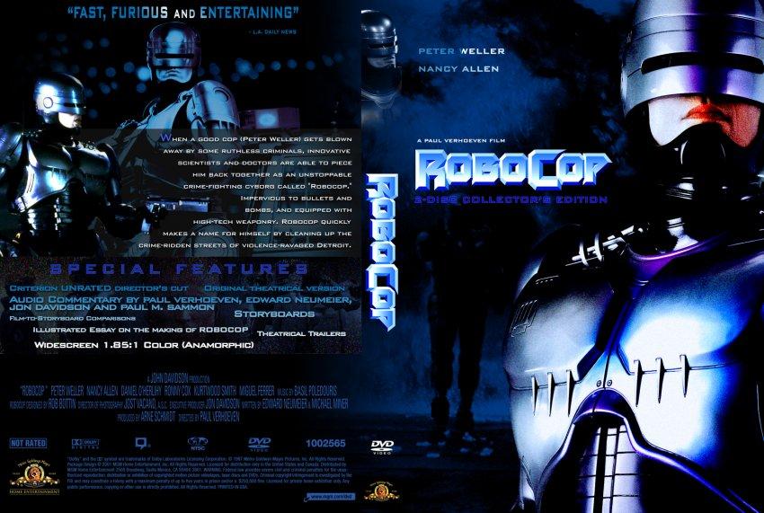 Robocop - Movie DVD Cu...