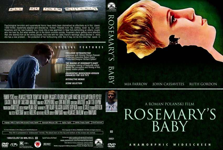 an analysis of rosemarys baby by roman polanski