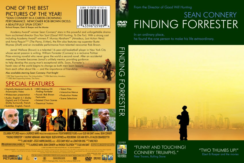finding forrester 2 essay Finding forrester: two-way mentoring finding forrester, starring sean connery, is about a reclusive writer who, after winning the pulitzer prize for his first novel, locks himself inside.