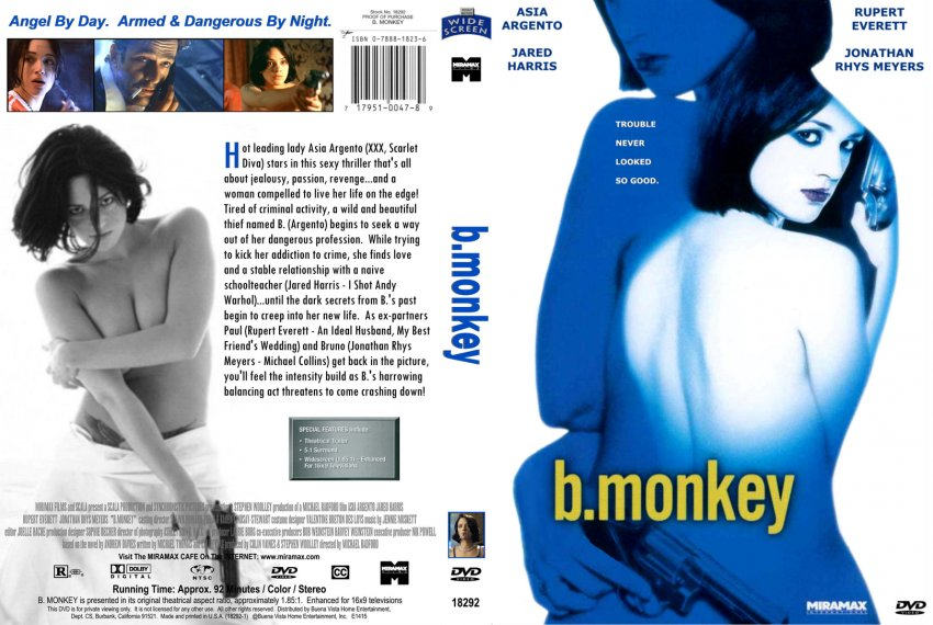 B Monkey Film B. Monkey - Movie DVD ...