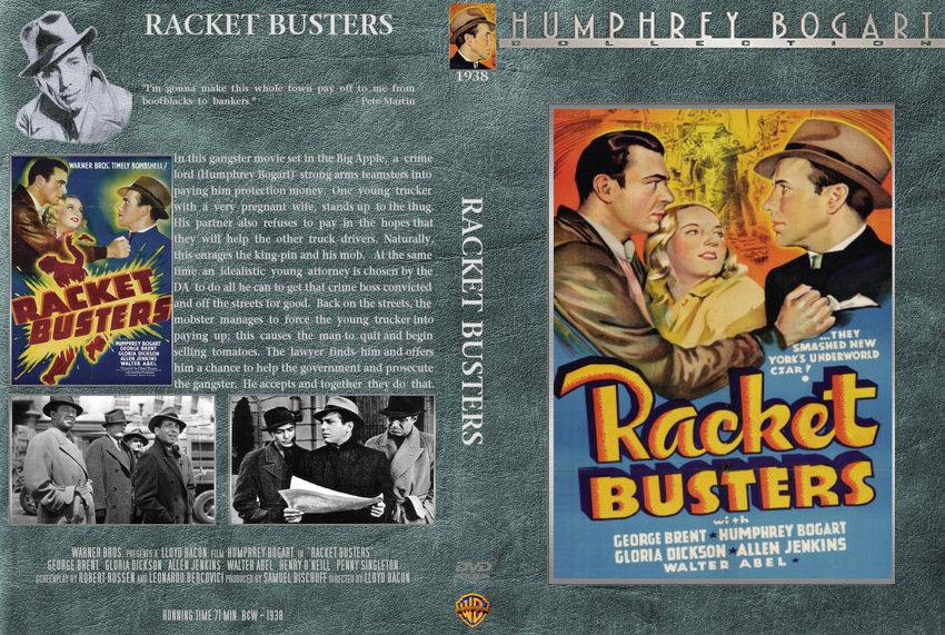 Racket Busters Movie Dvd Custom Covers