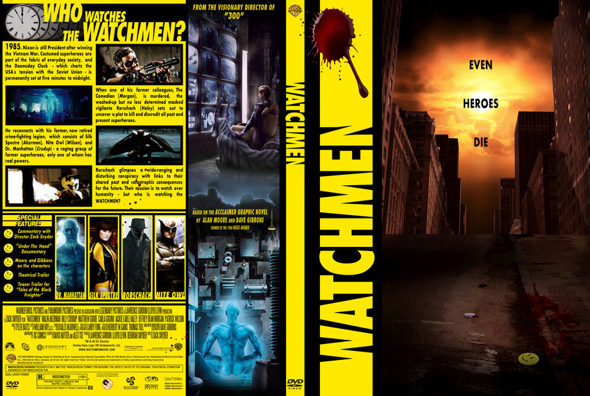 Watchmen - Movie DVD Custom Covers - watchmen cstm cover ...