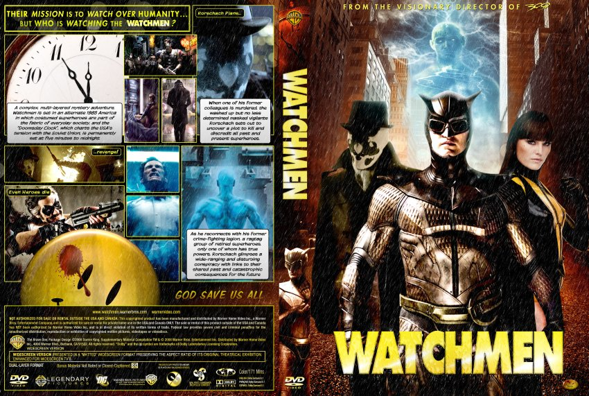 Watchmen - Movie DVD Custom Covers - watchmen custom v12 ...