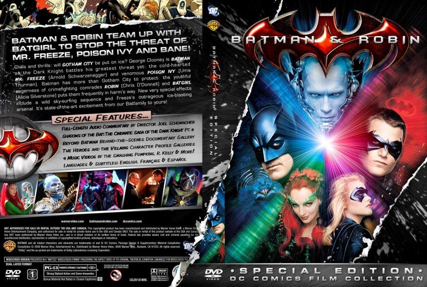 Batman and Robin Movie DVD