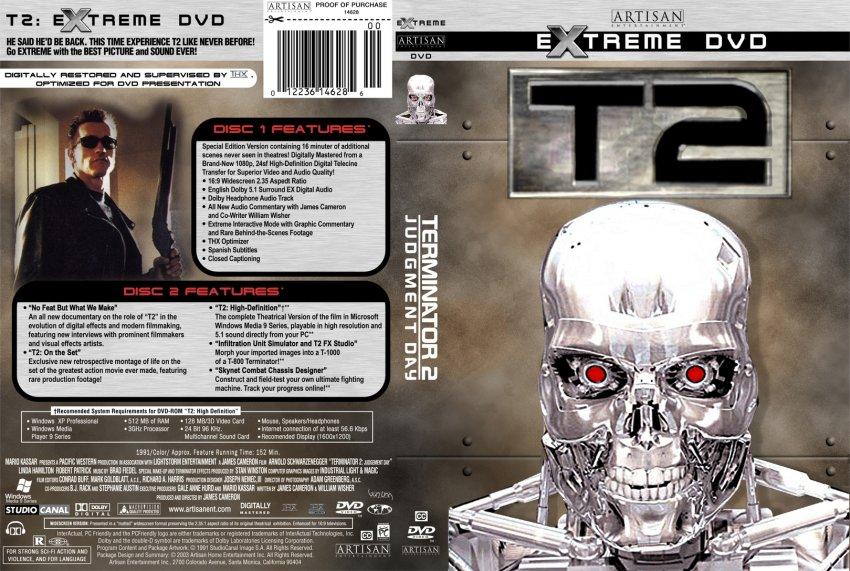 Terminator 2 CDS mix  |The Terminator 2 Cover