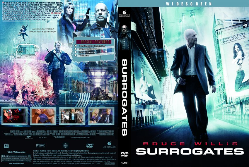 surrogates the movie Edgy sci-fi thriller is very violent not for tweens/kids read common sense media's surrogates review, age rating, and parents guide.