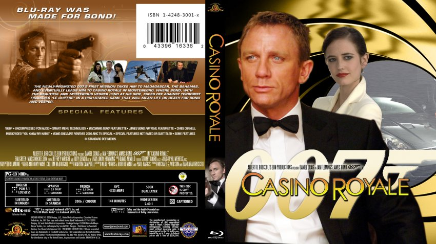 Casino Royale - Movie Blu-Ray Scanned Covers - 007 james ...