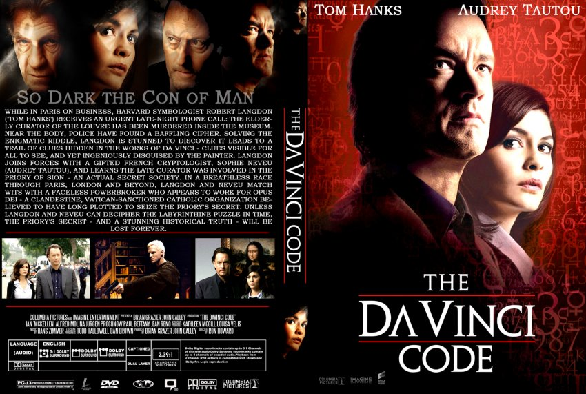 a movie analysis of the da vinci code