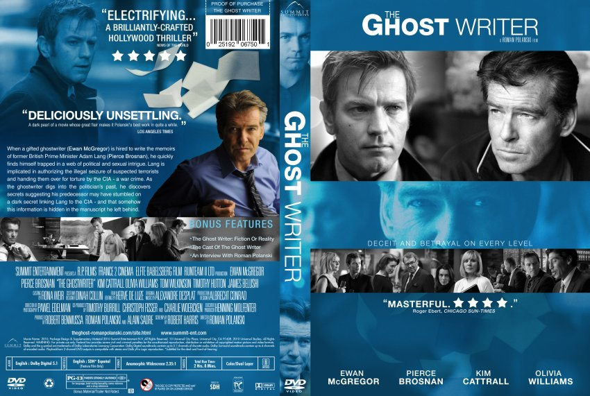 Ghost writer essays dvd cover