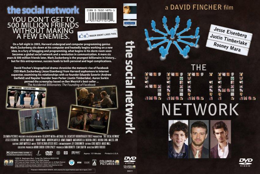 The Social Network - Movie DVD Custom Covers - The Social ...